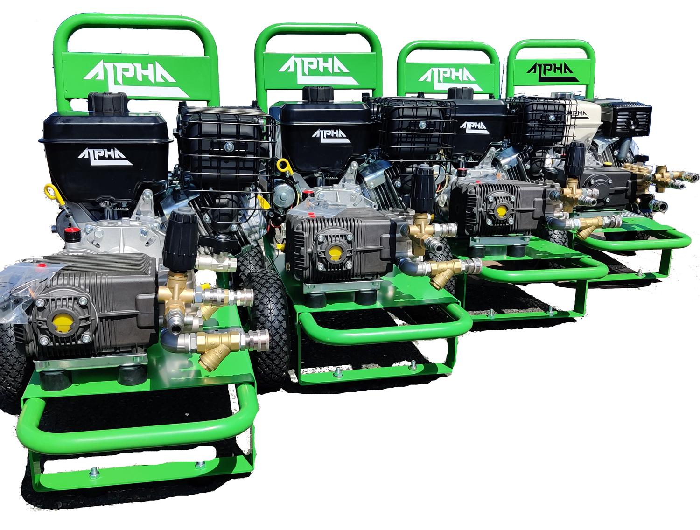 Alpha Petrol Pressure Washer